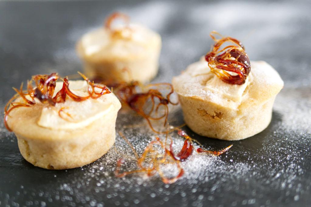 Panama Quadrat: Apfel-Zimt-Cupcakes sind einfach lecker.