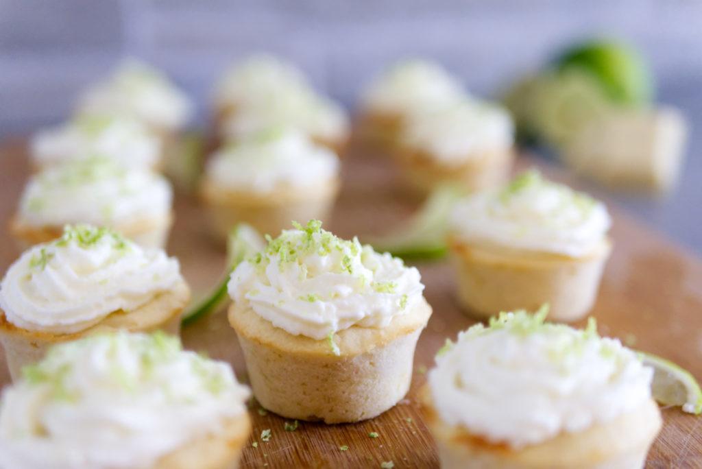 Panama Quadrat: Lecker und schnell gemacht – Cupcakes mit Limette und weißer Schokolade
