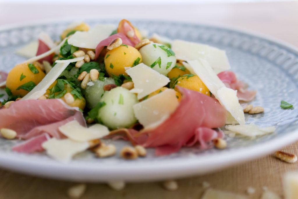 Panama Quadrat: Melonen-Salat – lecker kann so einfach sein.