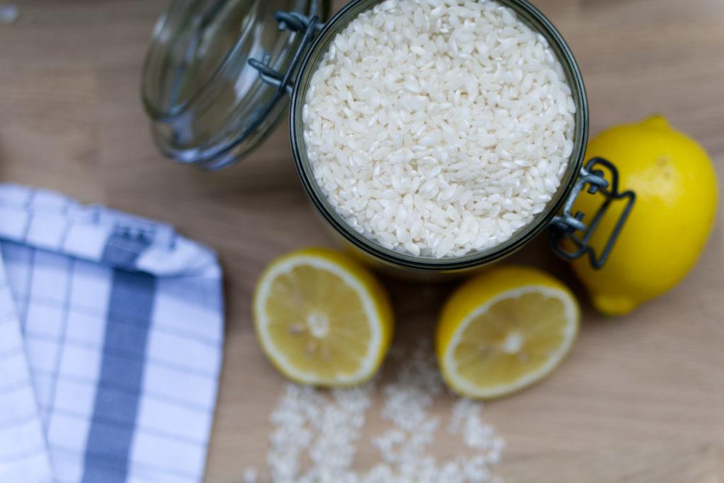 Risotto-Liebe: Pfifferling-Risotto mit Salbei und Zitrone | Panama Quadrat