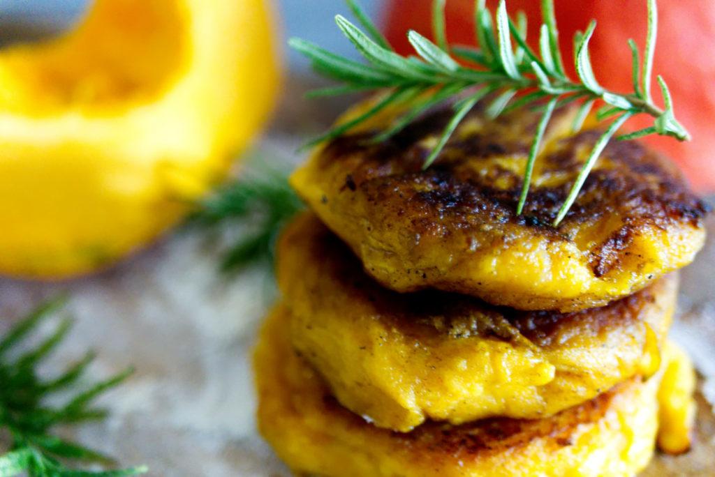 Kartoffel-Kürbis Taler | einfach lecker | Panama Quadrat