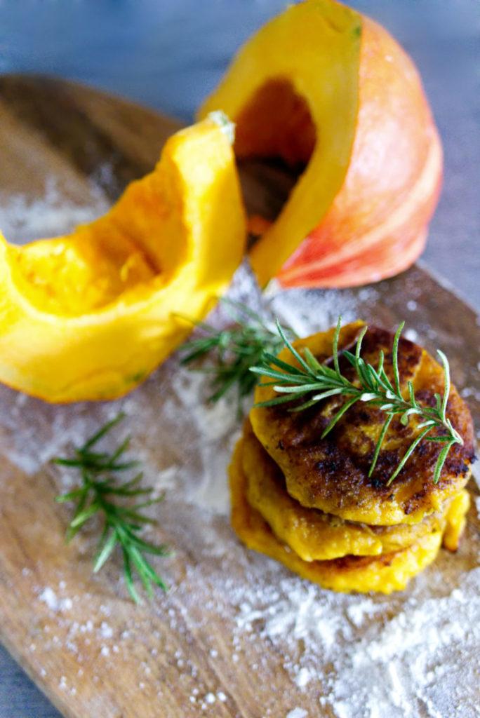 Kartoffel-Kürbis Taler | Pinterest | Panama Quadrat