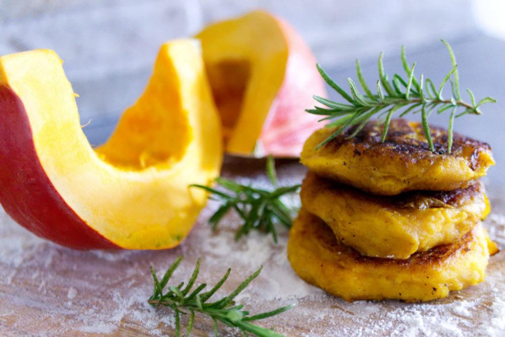 Kartoffel-Kürbis Taler | Panama Quadrat
