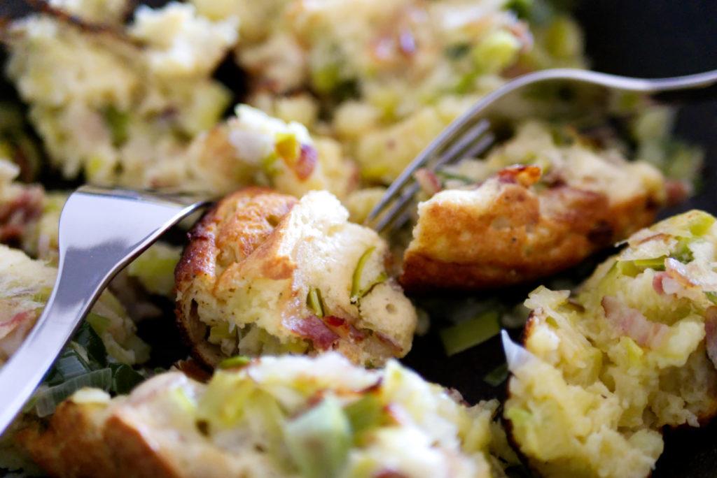 Glutenfreier Kartoffelschmarrn | Leckeres Rezept | Panama Quadrat