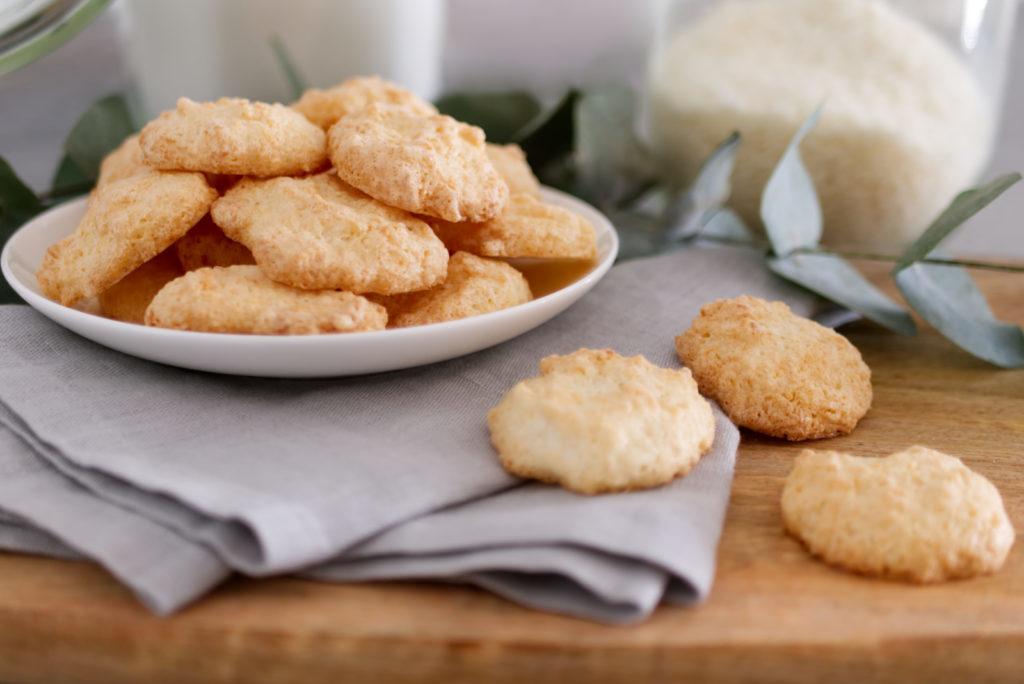 Kokosmakronen | Klassiker aus der glutenfreien Weihnachtsbäckerei | Panama Quadrat