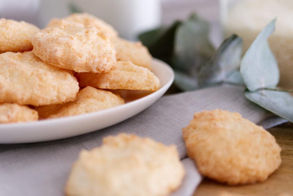Kokosmakronen | Aus der glutenfreien Weihnachtsbäckerei | Panama Quadrat