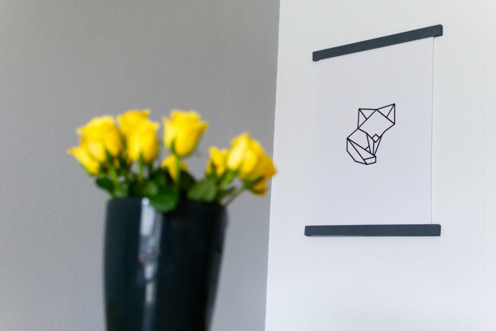 Magnetische Posterleisten aus Holz | DIY Anleitung | Fuchs | Panama Quadrat