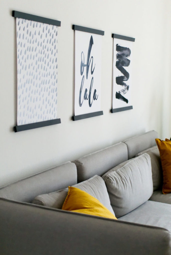 Magnetische Posterleisten aus Holz | Unsichtbare Aufhängung | DIY Anleitung | Panama Quadrat