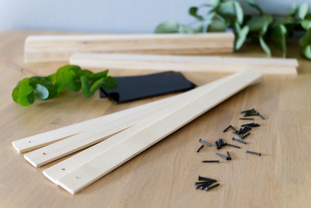 Magnetische Posterleisten aus Holz | Material | Panama Quadrat