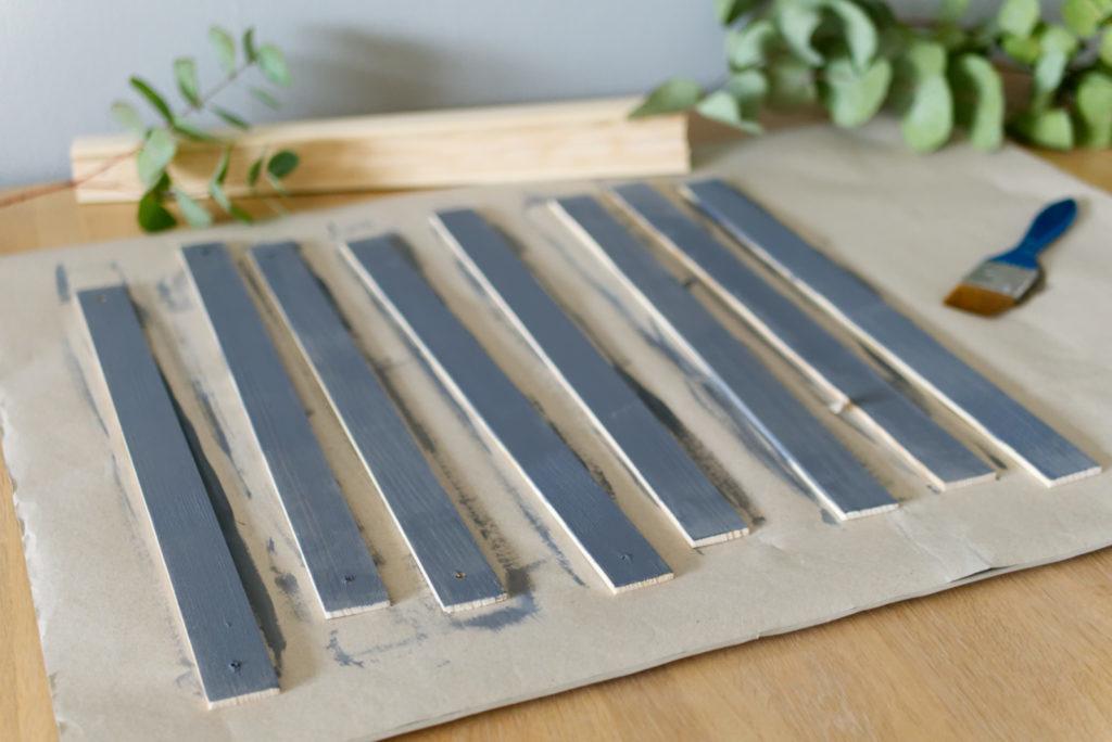 Magnetische Posterleisten aus Holz | Anstreichen | Panama Quadrat