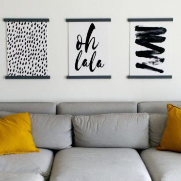 Magnetische Posterleisten aus Holz | Einfache DIY Anleitung | Panama Quadrat