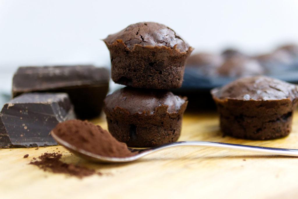 Deep Chocolate Muffins | Easy peasy Rezept mit ganz viel Schokolade | Panama Quadrat