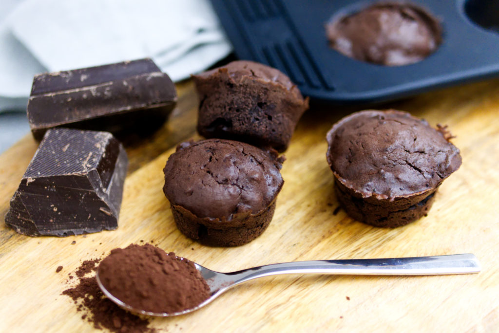 Deep Chocolate Muffins | Panama Quadrat