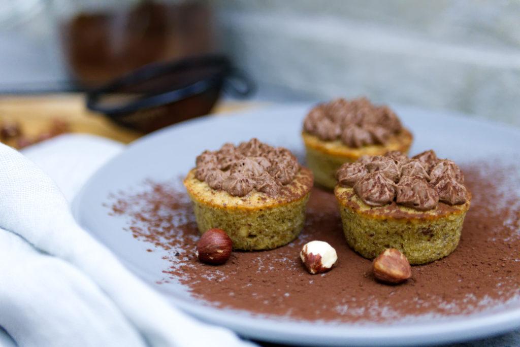 Espresso Cupcakes mit Schokoladen-Sahne | Kuchenzeit | Panama Quadrat