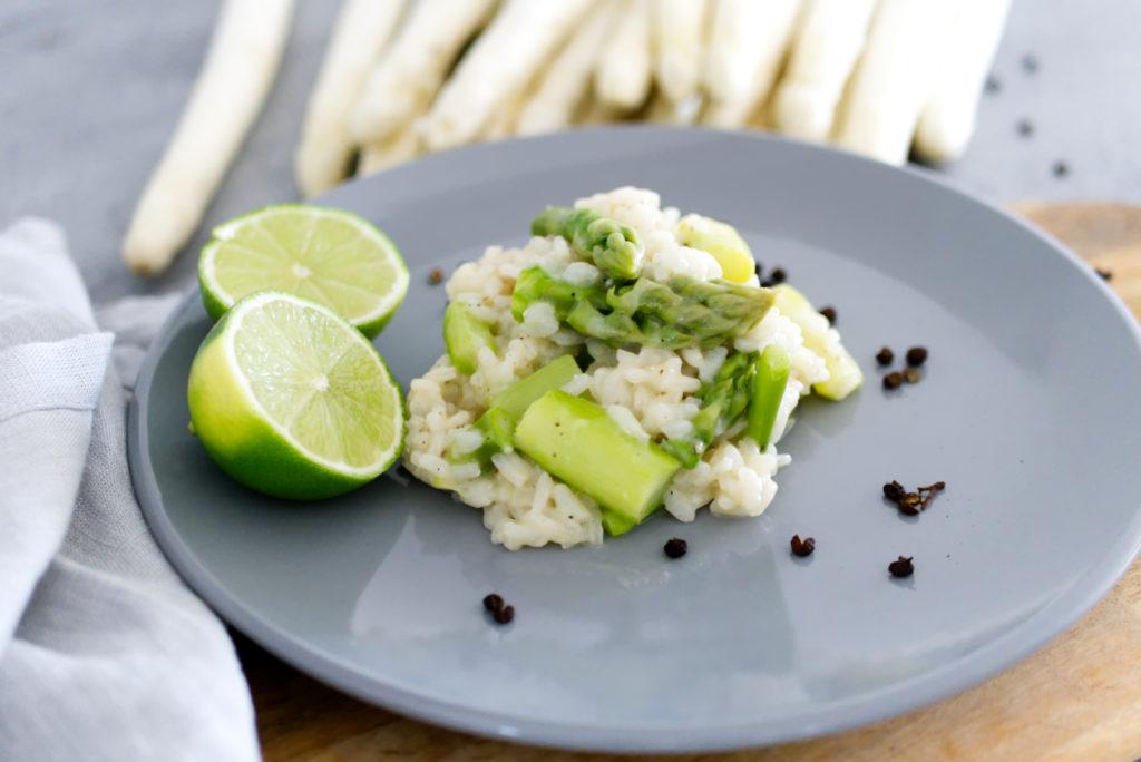 Spargelrisotto mit frischer Limette | Sommerliches Rezept | Panama Quadrat