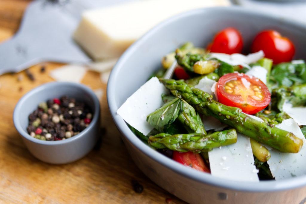 Spargel im Salat | Caprese mal anders | Panama Quadrat