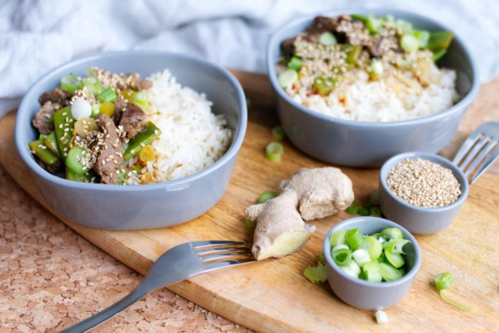 Sweet Sticky Beef: Eine große Portion Soulfood | Das Rezept für Essen mit Liebe | Panama Quadrat