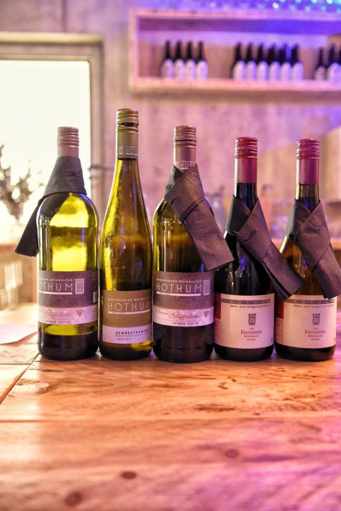 Hothums Weinreise in der Hafenkäserei: Die Weine | Panama Quadrat | Foto: Tanja Farwick - Foodistas