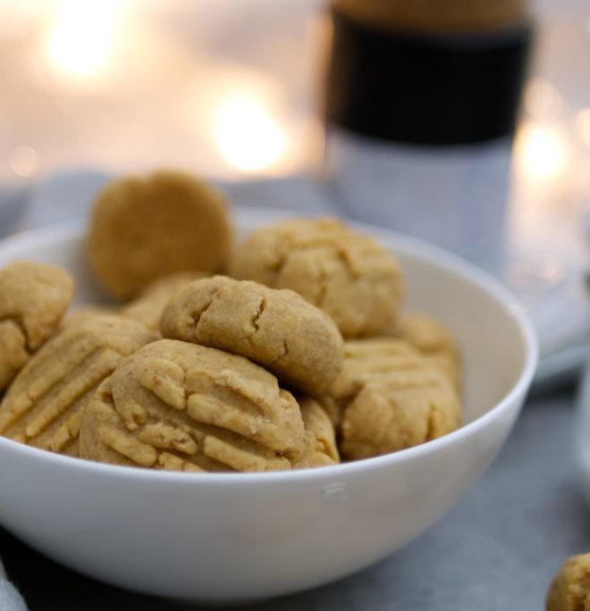 Erdnussbutter-Gnocchi aus der Weihnachtsbäckerei: Das Rezept für köstliche Mürbeteigplätzchen mit Erdnussbutter | Panama Quadrat